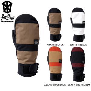 【ANTHEM】アンセム  RELOAD MITT  メンズ スノー グローブ 手袋 スノーウエア スノーボード ミトン ミット シンプル 6カラー 正規品】|54tide