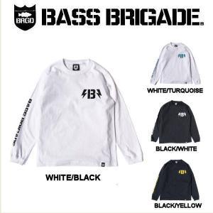 バスブリゲード BASS BRIGADE B-BOLT L/S TEE メンズ Tシャツ 長袖 ロングスリーブ アウトドア フィッシング 釣り 4カラー S・M・L・XL・XXL|54tide