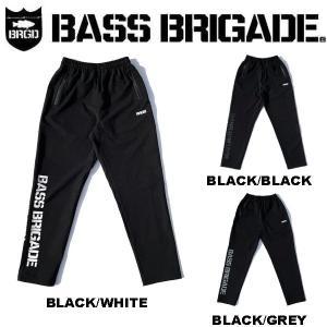 バスブリゲード BASS BRIGADE BB WORD MARK NYLON PANTS メンズ ボルト ナイロンパンツ アウトドア フィッシング S / M / L / XL|54tide