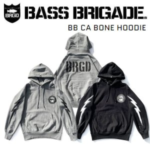 バスブリゲード BASS BRIGADE BB CA BONE HOODIE メンズ パーカー プルオーバー アウトドア フィッシング|54tide