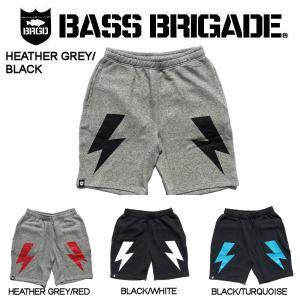 バスブリゲード BASS BRIGADE メンズ ショーツ ハーフパンツ スウェットパンツ  アウトドア フィッシング 釣り 4カラー S・M・L・XL  BOLT SWEAT SHORTS|54tide