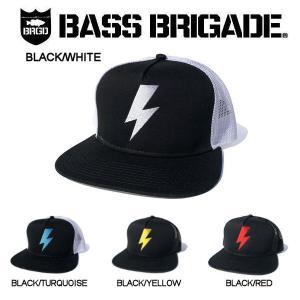 バスブリゲード BASS BRIGADE メンズ キャップ トラッカーキャップ スナップバック 4カラー  BOLT TRUCKER HAT|54tide
