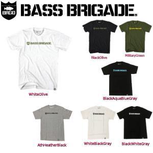 バスブリゲード BASS BRIGADE メンズTシャツ 半袖ティーシャツ アウトドアフィッシング S-XXL 7カラー SHIELD & WORDMARK TEE|54tide