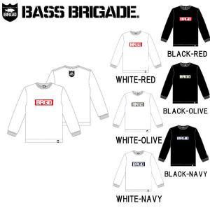 バスブリゲード BASS BRIGADE メンズ ロンT ロングスリーブ Tシャツ 長袖トップス BOX BRGD L/S TEE|54tide