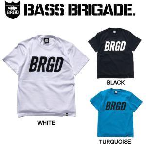 バスブリゲード BASS BRIGADE メンズ Tシャツ 半袖 アウトドア フィッシング 釣り 3カラー S・M・L・XL・XXL FRAME LOGO TEE|54tide