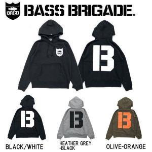 バスブリゲード BASS BRIGADE メンズ プルオーバーパーカー 長袖 トップス GRAND B HOODIE|54tide