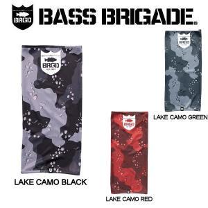 バスブリゲード BASS BRIGADE LAKE CAMO UV CUT NECK GAITOR 2 メンズ ネックゲ―タ― ネックウォーマー 速乾性 UVカット アウトドア フィッシング 釣り|54tide