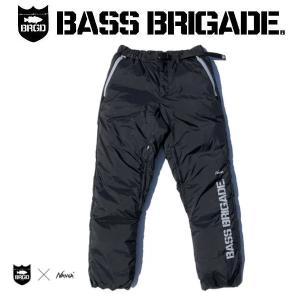 バスブリゲード BASS BRIGADE NANGA X BASS BRIGADE AURORA DOWN PANTS メンズ ナンガ コラボ ダウンパンツ 防水 アウター アウトドア フィッシング 釣り|54tide