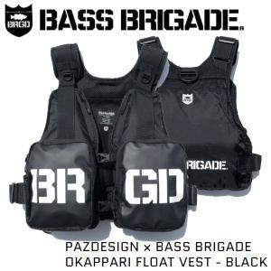 バスブリゲード BASS BRIGADE 2020 PAZDESIGN × BASS BRIGADE OKAPPARI FLOAT VEST パズデザイン コラボ フローティングベスト フィッシング 釣り 正規品|54tide