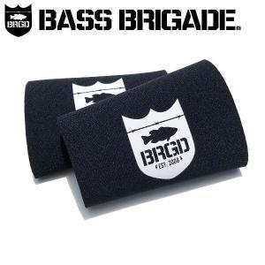 バスブリゲード BASS BRIGADE メンズ リストカバー 防水 防風 アウトドア フィッシング SHIELD LOGO WRIST COVER|54tide