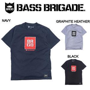 バスブリゲード BASS BRIGADE メンズ Tシャツ 半袖 アウトドア フィッシング 釣り 3カラー S・M・L・XL・XXL SQUARE BOX TEE|54tide