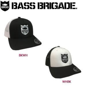 バスブリゲード BASS BRIGADE メンズキャップ メッシュキャップ アウトドア フィッシング 帽子 SHIELD LOGO SNAPBACK TRUCKER|54tide