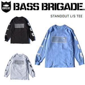 バスブリゲード BASS BRIGADE STANDOUT L/S TEE メンズ ロングスリーブ Tシャツ 長袖 防縮加工 アウトドア フィッシング 釣り|54tide
