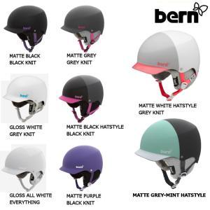 レディースヘルメット スノーボード バーン BERN MUSE 耳あてあり|54tide