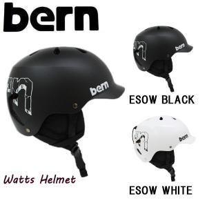 バーン BERN BERN WT TEAM WATTS ESOW  ヘルメット オールシーズンXS-XL 2カラー ジャパンフィット skate  スケート【正規品】|54tide