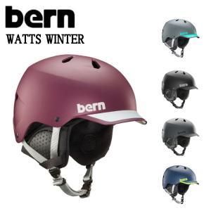 バーン BERN WATTS WINTER ワッツ ヘルメット ジャパンフィット HARD HAT スケートボード BMX USサイズ表記 L-XXXL 正規品|54tide
