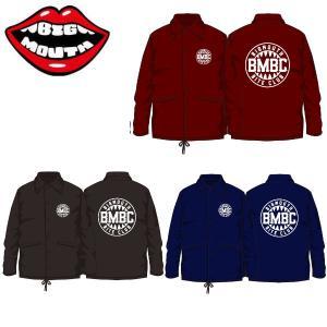 【BIG MOUTH】ビッグマウス BMBC COACH JACKET2 メンズコーチジャケット 男性向けウインドブレーカー 54tide