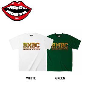 ビッグマウス BIGMOUTH メンズ Tシャツ 半袖 ティーシャツ 男性向け M-XXL WHITE・GREEN BMBC WAX T 54tide