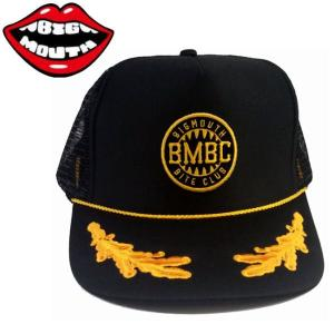 メンズキャップ スナップバック メッシュ 帽子 ビッグマウス BIGMOUTH  Lmtd Captain Hat 54tide