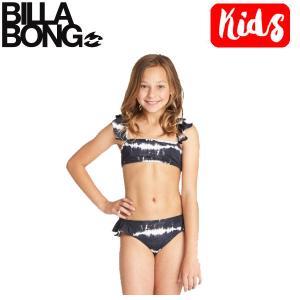ビラボン BILLABONG キッズ ビキニ 水着 スイムウェア ウエア 子供用 ガールズ 女の子 120cm-150cm BPB Girls Washed Out Ruffle Tank Bikini Set|54tide