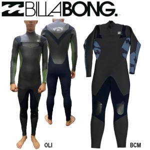 ビラボン BILLABONG メンズ ウェットスーツ セミドライ フルスーツ チェストジップ FULLSUIT WETSUIT セミドライ 裏起毛 M/ML/L|54tide