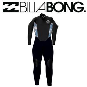 ビラボン BILLABONG レディース レディース  ウエットスーツ BACK ZIPPER セミドライ フルスーツ サーフィン 正規品 54tide