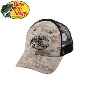 バスプロショップス Bass Pro Shops メンズ メッシュキャップ 帽子 フィッシング アウトドア Digital Desert Camo Trucker Mesh Cap|54tide
