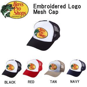 バスプロショップス Bass Pro Shops メンズ メッシュキャップ 帽子 フィッシング アウトドア Embroidered Logo Mesh Caps|54tide