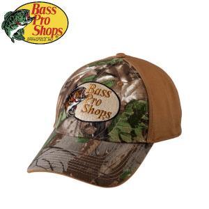 バスプロショップス Bass Pro Shops メンズ パネルキャップ 帽子 フィッシング アウトドア Realtree Xtra Green Camo Front Cap|54tide