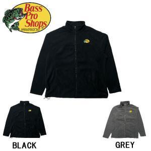 バスプロショップス Bass Pro Shops Logo Fleece Jacket for Men メンズ ロゴ フリース 長袖 ジャケット アウター S・M・L・XL・XXL【正規品】|54tide