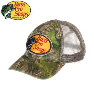 バスプロショップス Bass Pro Shops メンズ メッシュキャップ 帽子 フィッシング アウトドア Camo Trucker Mesh Cap|54tide