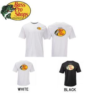 バスプロショップス Bass Pro Shops メンズ 半袖Tシャツ ティーシャツ トップス Johnny Morris Woodcut Logo Short-Sleeve T-Shirt|54tide