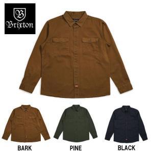 ブリクストン BRIXTON メンズ 長袖シャツ コットンツイルシャツ カジュアルシャツ トップス OLSON L/S WOVEN 54tide