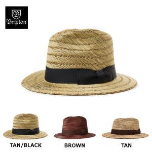 ブリクストン BRIXTON メンズ レディース 麦わら帽子 ストローハット 帽子 ROLLINS FEDORA|54tide