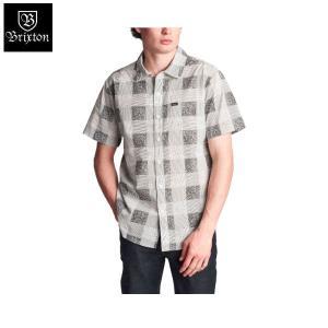 ブリクストン BRIXTON メンズ 半袖シャツ ボタンダウンシャツ ワイシャツ トップス CHARTER PLAID S/S WOVEN 54tide