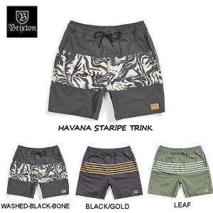 ブリクストン BRIXTON HAVANA STARIPE TRINK メンズ ショートパンツ ハーフパンツ ズボン スウィムショーツ サーフパンツ 【正規品】|54tide