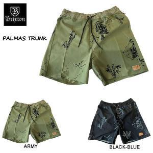 ブリクストン BRIXTON  PALMAS TRUNK メンズ ショートパンツ ハーフパンツ ズボン ボトムス S・M・L・XL 2カラー 54tide