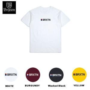 ブリクストン  BRIXTON メンズ 半袖Tシャツ ティーシャツ トップス STOWELL IV S/S STANDARD TEE 54tide