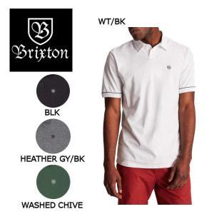 ブリクストン BRIXTON メンズ半袖シャツ ポロシャツ シャツ ショートスリーブ トップス S・M・L 4カラー CARLOS S/S POLO KNIT 54tide