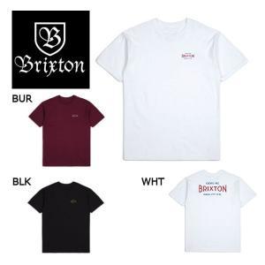 ブリクストン BRIXTON メンズ半袖Tシャツ ティーシャツ ショートスリーブ バックプリント トップス S-XL 3カラー CINEMA S/S STANDARD TEE 54tide