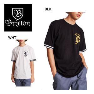ブリクストン BRIXTON メンズ半袖Tシャツ ティーシャツ ショートスリーブ トップス S・M・L WHITE BLACK RAWSON S/S KNIT 54tide