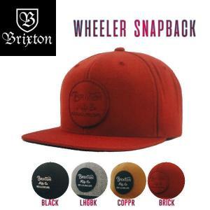 BRIXTON ブリクストン WHEELER SNAPBACK メンズキャップ 6パネル スナップバック 54tide