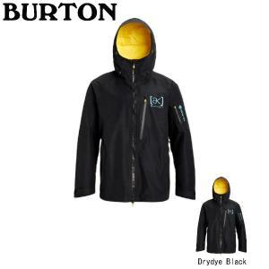 バートン  Men's Burton [ak] GORE-TEX Cyclic Jacket メンズ スノージャケット スノーウエア Drydye Black【BURTON JAPAN正規品】|54tide