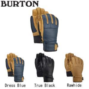 バートン BURTON Men's GONDY GORE-TEX LEATHER GLOVE メンズ スノーグローブ 手袋 スノーボード ウィンタースポーツ  3カラー S・M・L 【BURTON JAPAN正規品】|54tide