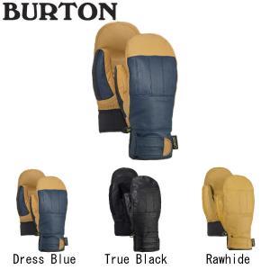バートン BURTON Men's GONDY GORE-TEX LEATHER MITTEN メンズ スノーグローブ 手袋 スノーボード ウィンタースポーツ  3カラー S・M・L 【BURTON JAPAN正規品】|54tide