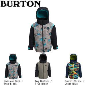 バートン 2019-2020 Boys' Burton Toddler Gameday Bomber Jacket キッズ 子供用 スノーウェア ジャケット アウター スノーボード【BURTON JAPAN正規品】 54tide