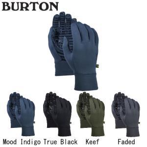 バートン BURTON Mens BURTON POWERSTRETCH GLOVE LINER メンズ スノーグローブ 手袋 スノーボード ウィンタースポーツ   【BURTON JAPAN正規品】|54tide