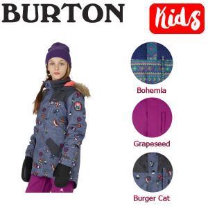 BURTON バートン Aubrey Parka Jacket ガールズスノーボードウェア 長袖ジャケット 子供用 XS-XL 3カラー BURTON JAPAN 正規品 54tide