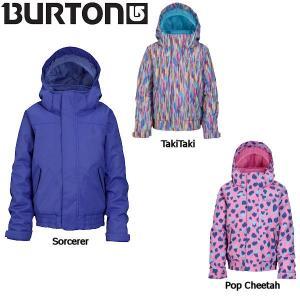 バートン BURTON キッズジャケット スノーボードウェア ガールズ ウエア 54tide