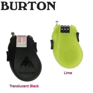 BURTON バートン CABLE LOCK 鍵 スノーボード キーロック ダイアル式 ケーブル アクセサリー BURTON JAPAN正規品